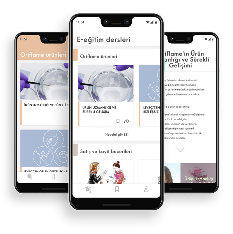 Oriflame Learning Hub app